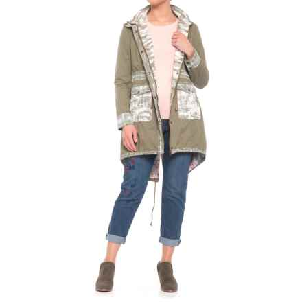 Boundless North Desert Charm Anorak Jacket (For Women) in Moss - Closeouts