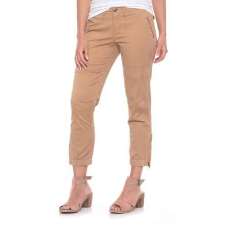 Boundless North Fox Fire Capris (For Women) in Camel Black - Closeouts