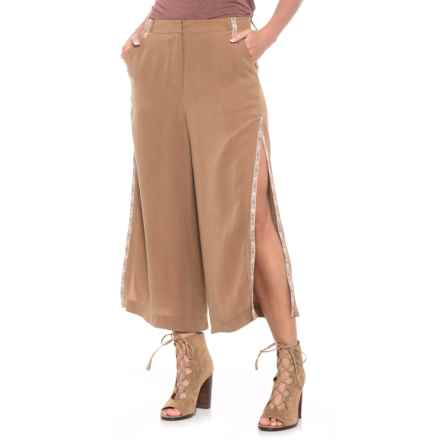 Boundless North Luna Flared-Leg Pants (For Women) in Camel Black - Closeouts