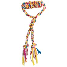 Bow-Wow Pet Tug-N'-Play Rope Dog Toy in Asst - Closeouts