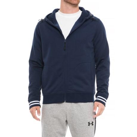 Boxercraft Warm-Up Hoodie - Full Zip (For Men) in Navy