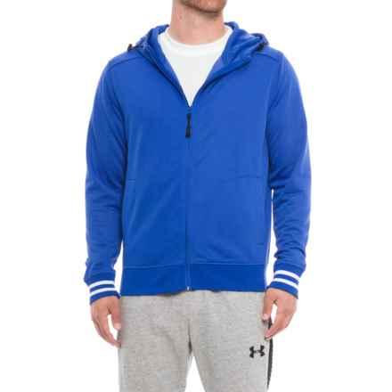 Boxercraft Warm-Up Hoodie - Full Zip (For Men) in Royal - Overstock