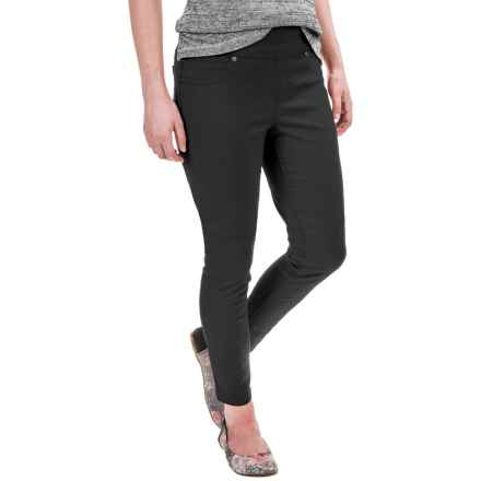 Boyfriend Ankle Jeggings (For Women) in Black - 2nds