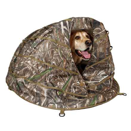 Boyt Harness Ducks Unlimited Deluxe Dog Field Blind in See Photo - Closeouts