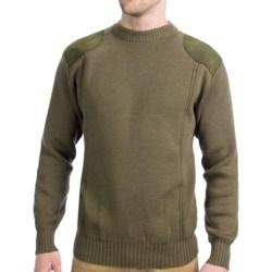 Boyt Harness Shooting Sweater - Merino Wool, Crew Neck (For Men) in Sage