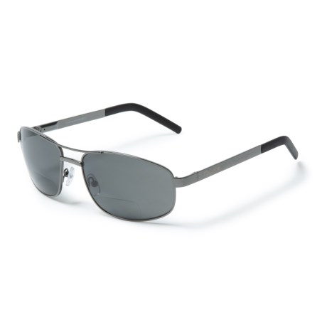 Image of BP-16 Metal Reading Sunglasses - Polarized, Bi-Focal