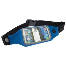 Bracketron TruSportPak with LED Safety Light and SmartVU Plus in Blue/Grey - Closeouts