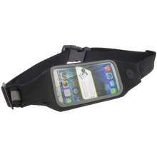 Bracketron TruSportPak with LED Safety Light and SmartVU Window in Black/Grey - Closeouts
