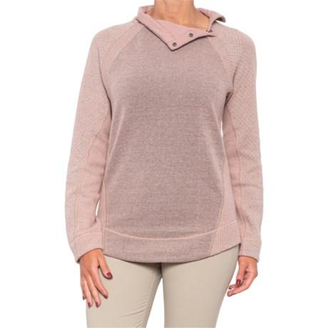 Brandie Sweater (For Women) - LIGHT MAUVE HEATHER (S )