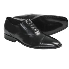 Brass Boot Mancini Oxford Shoes - Cap Toe (For Men) in Black - Closeouts