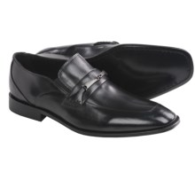 Brass Boot Montebello Shoes - Slip-Ons, Leather (For Men) in Black - Closeouts