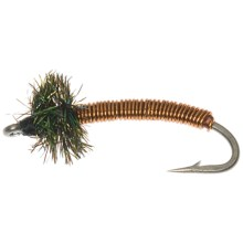 Brassie Nymph Fly - Dozen in Copper - Closeouts