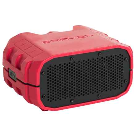 Braven BRV-1S Bluetooth® Speaker - Waterproof in Firered/Gray - Closeouts