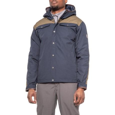 Braxton Jacket - Waterproof, Insulated (For Men) - NAVY/TAN (M )