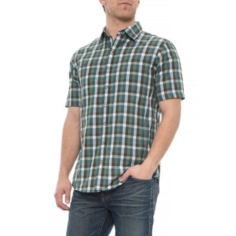 Image of Brayden Shirt - Snap Front, Short Sleeve (For Men)