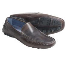 B.r.c.d. 1896 Cypress Shoes - Leather, Slip-Ons (For Men) in Red Brown - Closeouts