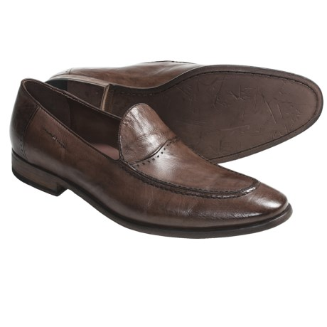 B.r.c.d. 1896 Mercer Shoes - Leather, Slip-Ons (For Men) in Dark Brown