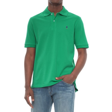 Breakfast Creek Cotton-Pique Polo Shirt - Short Sleeve (For Men) in Green