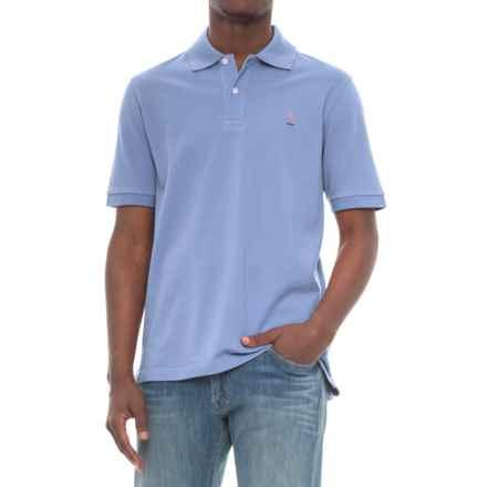 Breakfast Creek Cotton-Pique Polo Shirt - Short Sleeve (For Men) in Light Blue - Closeouts