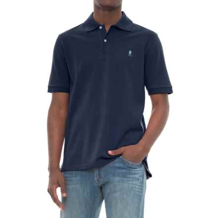 Breakfast Creek Cotton-Pique Polo Shirt - Short Sleeve (For Men) in Navy - Closeouts
