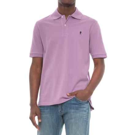 Breakfast Creek Cotton-Pique Polo Shirt - Short Sleeve (For Men) in Purple - Closeouts