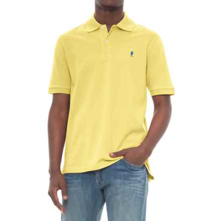 Breakfast Creek Cotton-Pique Polo Shirt - Short Sleeve (For Men) in Yellow - Closeouts