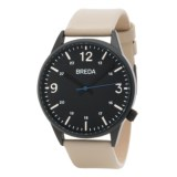 Breda Slate Analog Watch - Leather Band (For Men)