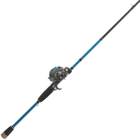 Brent Chapman Spinner Bait/Worm Casting Rod and Reel Combo – 1-Piece, 7?