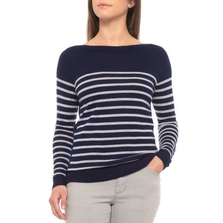 Image of Breton Stripe Sweater - Merino Wool (For Women)