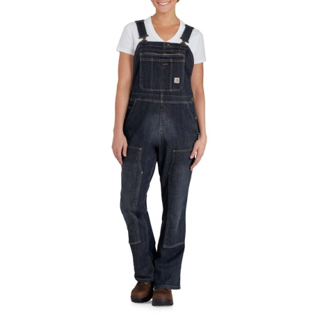 Image of Brewster Double-Front Bib Overalls - Unlined (For Women)