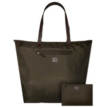 Bric's Ana Capri Convertible Tote Bag in Olive - Closeouts
