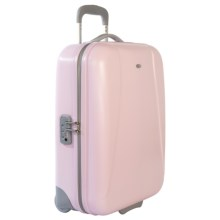 "Bric's Dynamic Ultralight Trolley Suitcase - 21"", Hardside in Pink - Closeouts"