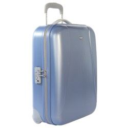 "Bric's Dynamic Ultralight Trolley Suitcase - 21"", Hardside in Silver"