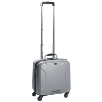 "Bric's Pininfarina Pilot Hard-Sided Spinner Luggage - 18"" in Silver"
