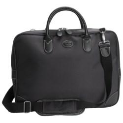 Bric's Pronto Slim Attache Case in Black