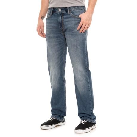 Image of Brick Road 513 Slim Straight Jeans (For Men)