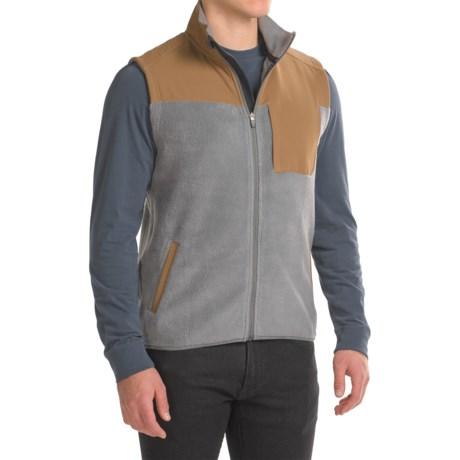 Image of Brickland Fleece Vest - Full Zip (For Men)