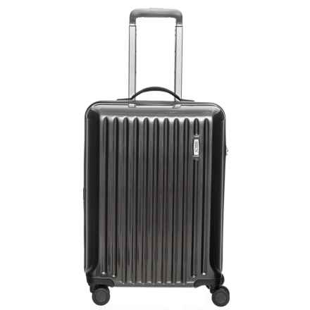 "Bric's 21"" Riccione Hardside Spinner Carry-On Suitcase in Dark Grey - Closeouts"