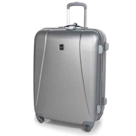 "Bric's 32"" Dynamic Hardside Spinner Suitcase in Silver - Closeouts"