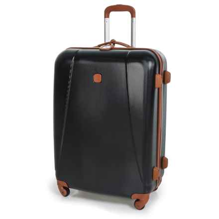 "Bric's Dynamic Hardside Spinner Suitcase - 32"" in Black/Tan - Closeouts"