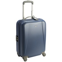 "Bric's Dynamic Light Trolley Hardside Spinner Suitcase - 20"" in Light Blue - Closeouts"