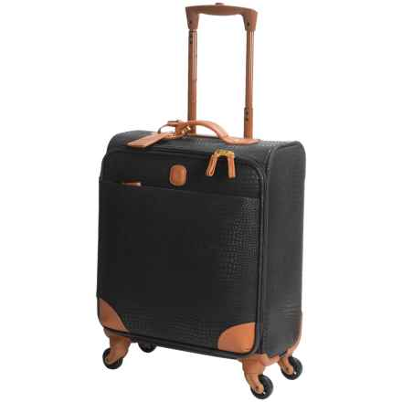 "Bric's My Safari Collection Wide Body Carry-On Spinner Suitcase - 20"" in Black - Closeouts"
