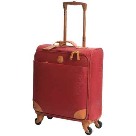 "Bric's My Safari Collection Wide Body Carry-On Spinner Suitcase - 20"" in Red - Closeouts"