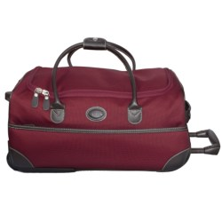 "Bric's Pronto Rolling Duffel Bag - 21"" in 311 Chianti"
