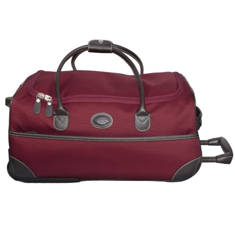 "Bric's Pronto Rolling Duffel Bag - 21"" in 311 Chianti"
