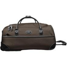 """Bric's Pronto Rolling Duffel Bag - 21"""" in Espresso/Black - Closeouts"""