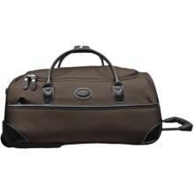 "Bric's Pronto Rolling Duffel Bag - 28"" in Espresso/Black - Closeouts"
