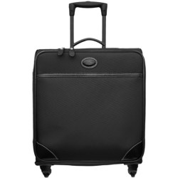 """Bric's Pronto Wide-Body Trolley Spinner Luggage - 20"""" in Black"""