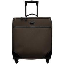 "Bric's Pronto Wide-Body Trolley Spinner Luggage - 20"" in Espresso/Black - Closeouts"