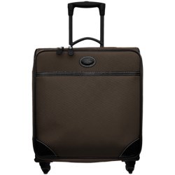 "Bric's Pronto Wide-Body Trolley Spinner Luggage - 20"" in Espresso/Black"